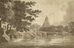 A View of the Great Pagoda at Tanjore(019XZZ000000744U00023000)